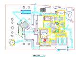 别墅花园园林绿化景观规划设计cad施工图(园林水电施工图齐全)图片3