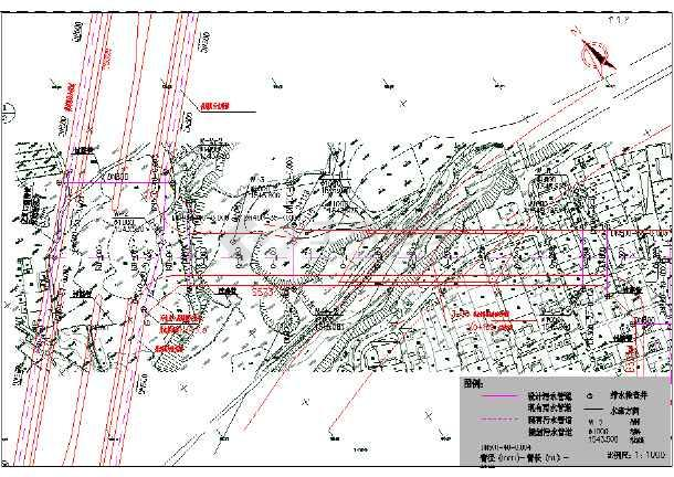 某道路给水排水工程施工图-图2