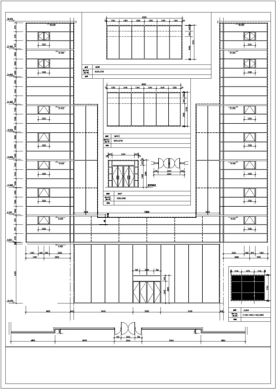 各种门窗大样图(CAD版本、1:1尺寸)图片1