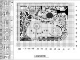 某市某公园景观植物配置平面设计图纸图片1