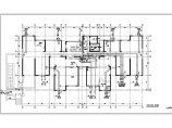某地18层高层建筑给排水中水消防平面图系统图图片2