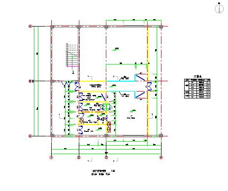 【泰州】某洁净厂房规划设计建筑施工图纸图片1