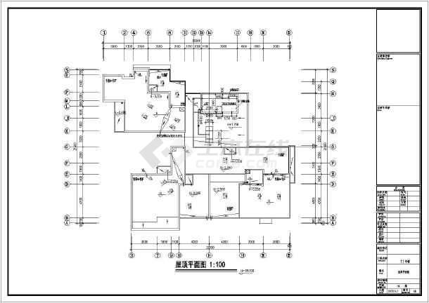 某小区高层住宅楼及地下室建筑给排水施工图图片