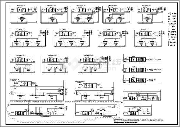 某医院手术部净化工程设计图纸(大样图多)-图2