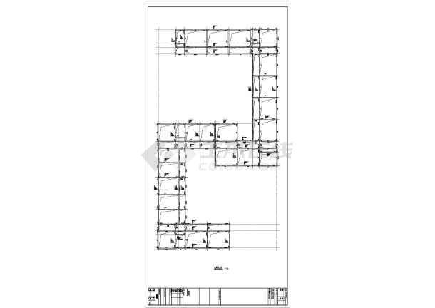 本工程为某地四层框架结构教学楼,图纸包括:基础平面布置图、地梁配筋图、柱平面布置图、梁配筋图、板配筋图,缺乏楼梯大样图.图片