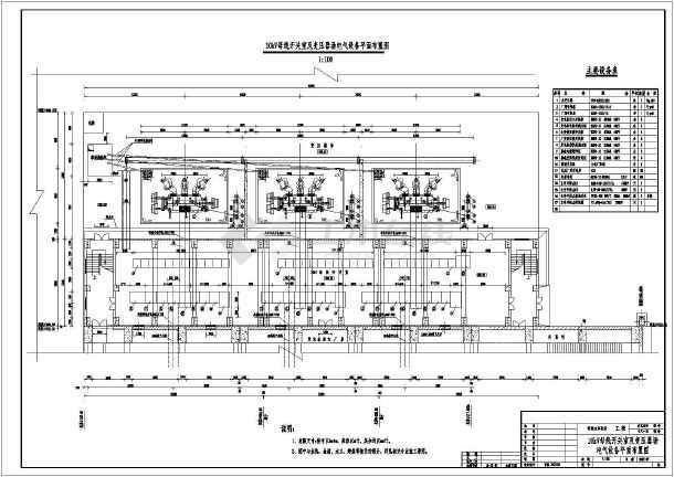 武都水库初步设计电站GIS和变压器电气布置图-图二