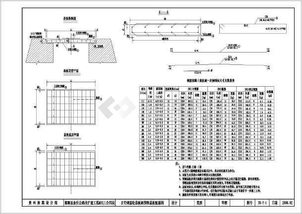 涵洞盖板钢筋图_[设计方案]涵洞通用正交盖板涵等设计方案图纸 - 土木在线