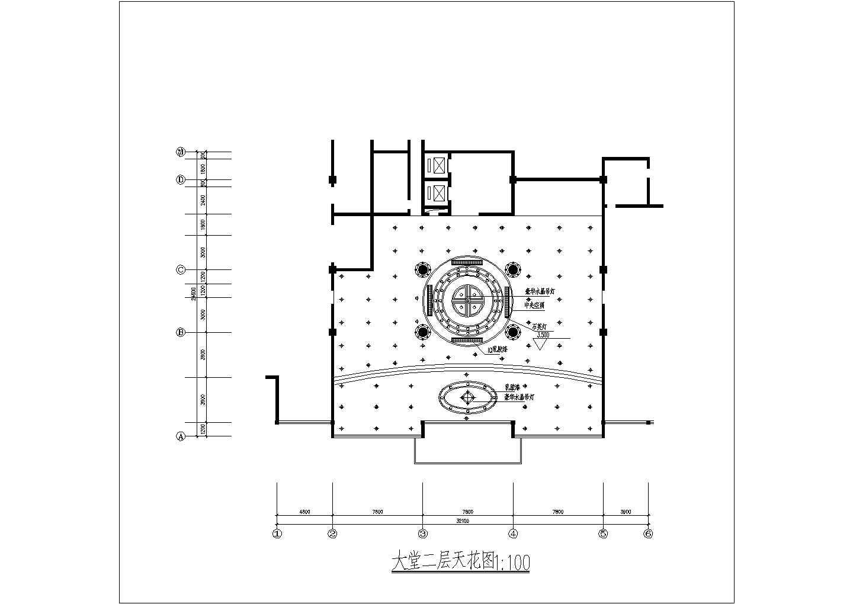 某地西餐厅的建筑一层平面图(共6张)图片3