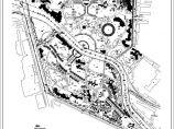 某地公园景观植物配置园林设计图纸图片1