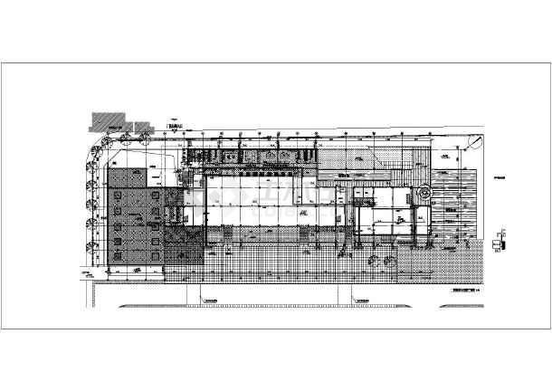 某工厂食堂给排水施工详细图-图1
