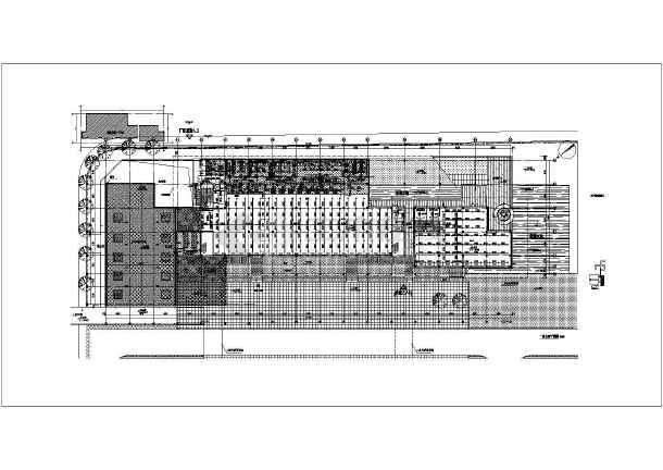 某工厂食堂给排水施工详细图-图2