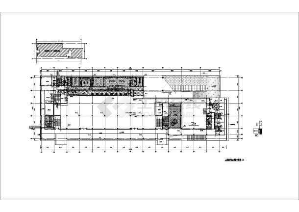 某工厂食堂给排水施工详细图-图3