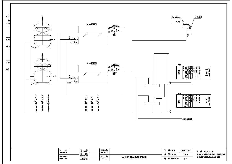 【南通】某地办公大楼空调水系统图图片3