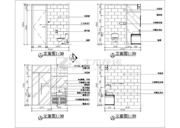 点击查看家庭卫生间装修设计详图(共3张)第1张大图