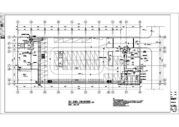 某医院空调通风防排烟施工图-图2