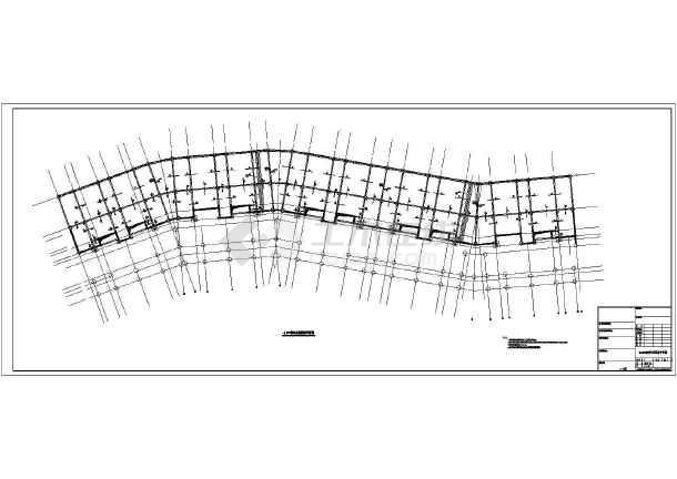 -1+5+1层异形柱结构住宅楼结构施工图-图2