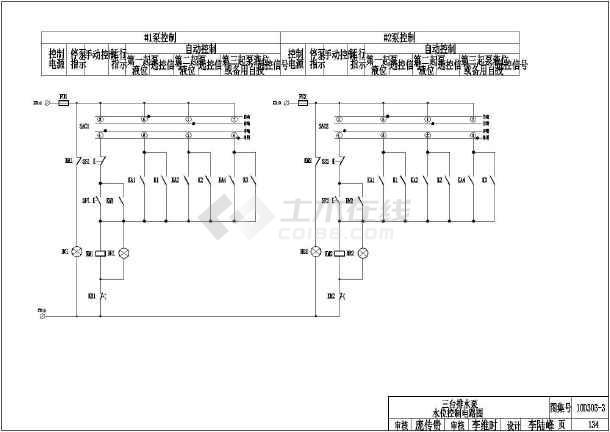 常用电机控制电路图 CAD版10D303 2 10D303 3