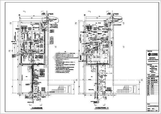 某公司自主设计生活中水回用污水系统图-图二