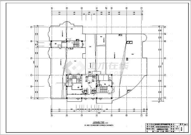 长春某二十层大厦给排水消防设计施工图图片