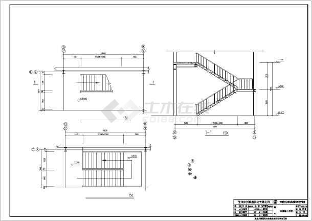 某工程独立基础设计施工图-图2