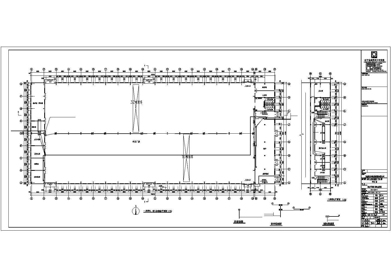 某地汽车零件钢结构厂房电气施工图图片1