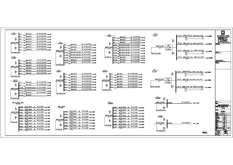 某地汽车零件钢结构厂房电气施工图图片2
