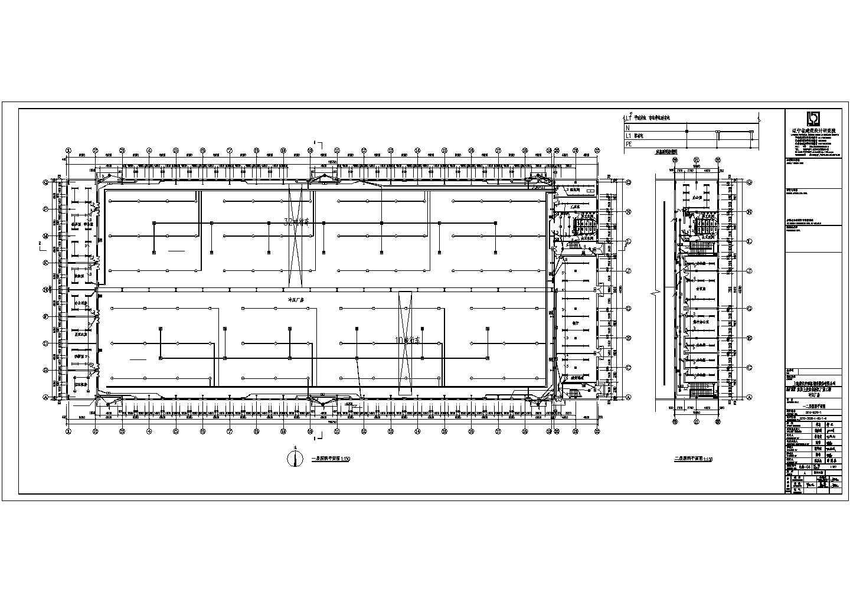 某地汽车零件钢结构厂房电气施工图图片3