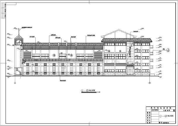 点击查看某地区变电站建筑设计详图(全套)第1张大图