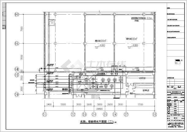 广东深圳市某厂区高层厂房及宿舍给排水施工图图片