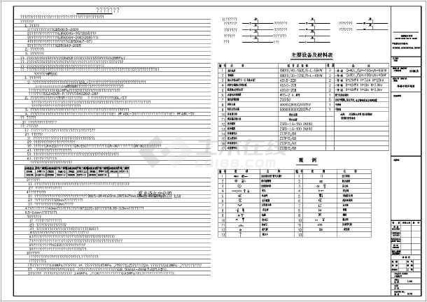【安徽】某宾馆给排水设计详细图纸-图2