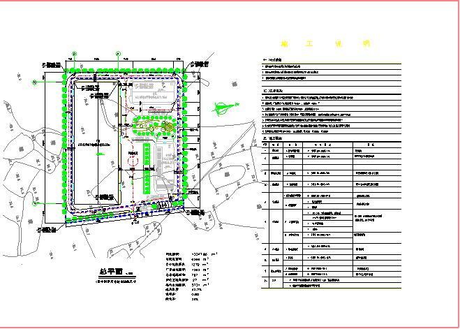 【苏州市】某地某工业区厂房规划设计图纸图片3