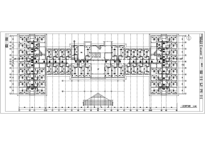 某城市七层办公楼全套空调水系统图图片2