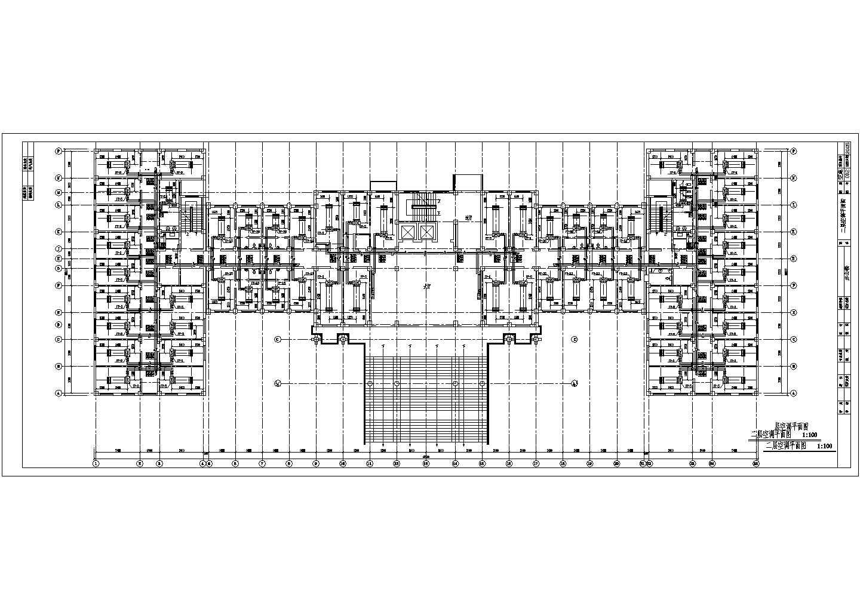 某城市七层办公楼全套空调水系统图图片3