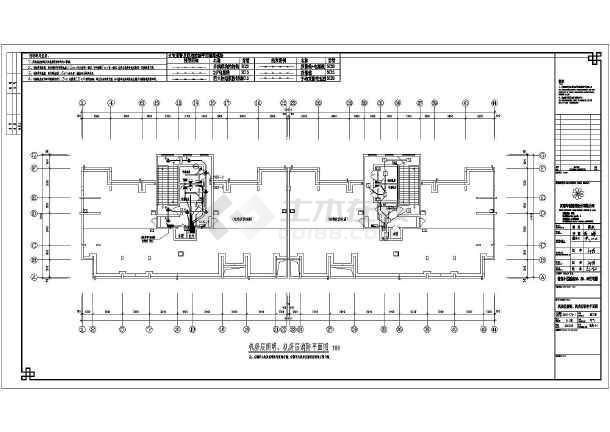 某30层住宅楼供配电系统设计全套-图2