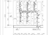 某小区室外给排水及燃气管道综合管线图图片1