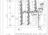 某小区室外给排水及燃气管道综合管线图图片3