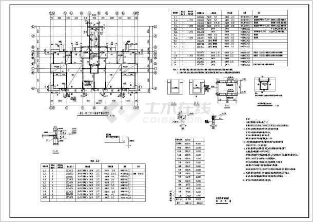 沈阳某14层异形柱纯剪力墙住宅结构施工图-图1