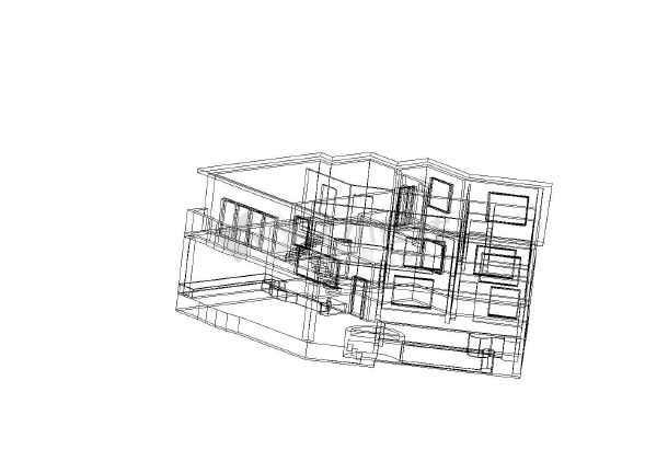 别墅的3D模型 大家看下好还是不好-图1