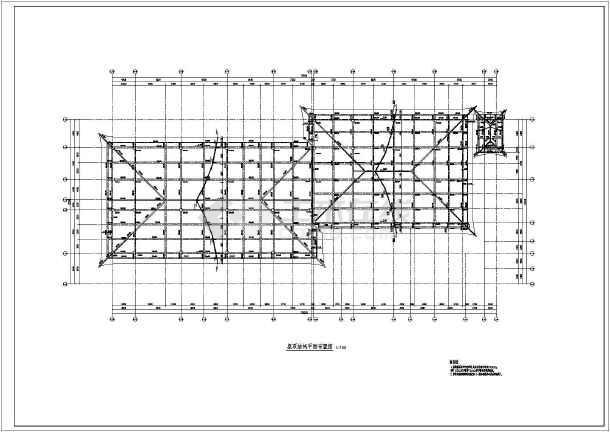 点击查看初设图(某地商业结构初设图)第2张大图