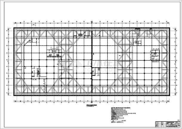 某地人防地下室基坑开挖支护全套施工图-图1