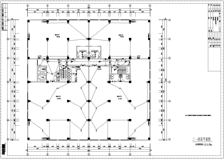 【河南】五层钢结构厂房电气施工图纸图片2