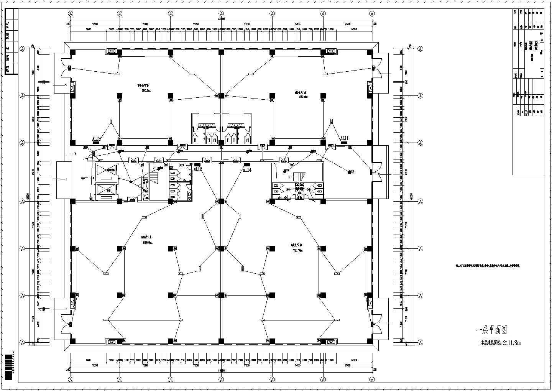 【河南】五层钢结构厂房电气施工图纸图片3