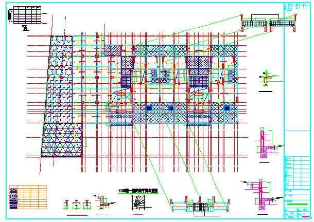 【重庆】七层框架剪力墙结构住宅楼结构施工图-图1