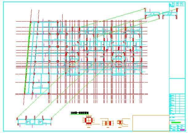 【重庆】七层框架剪力墙结构住宅楼结构施工图-图2