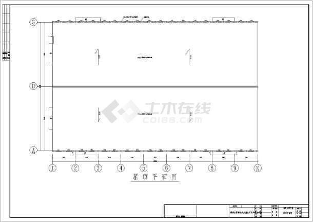 某钢结构厂房部分拆解详图(全套)-图1