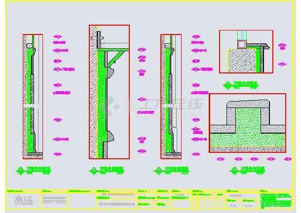 某美式休闲别墅装修设计图纸-图2