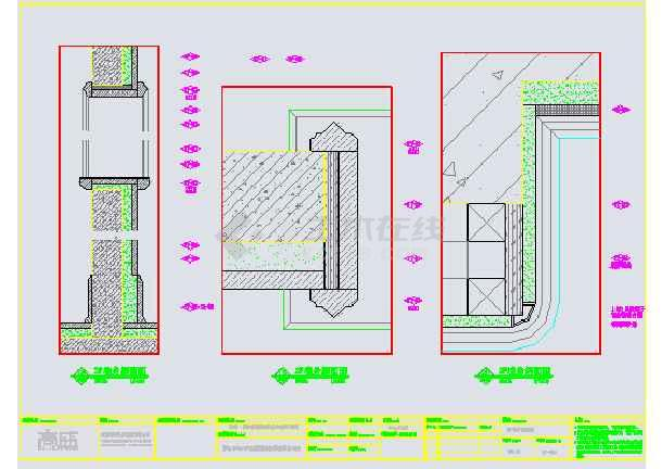 某美式休闲别墅装修设计图纸-图3