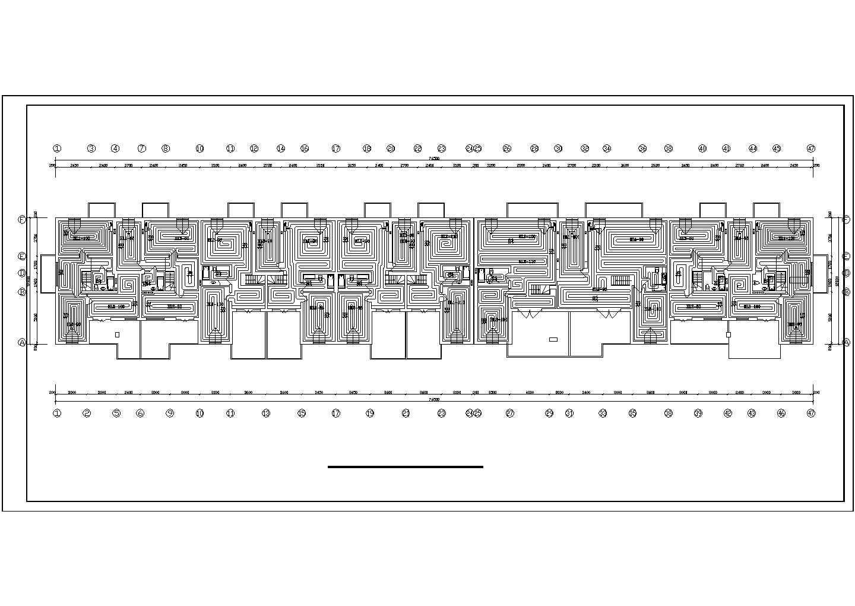 【河北】商住楼地板辐射采暖系统设计图图片1