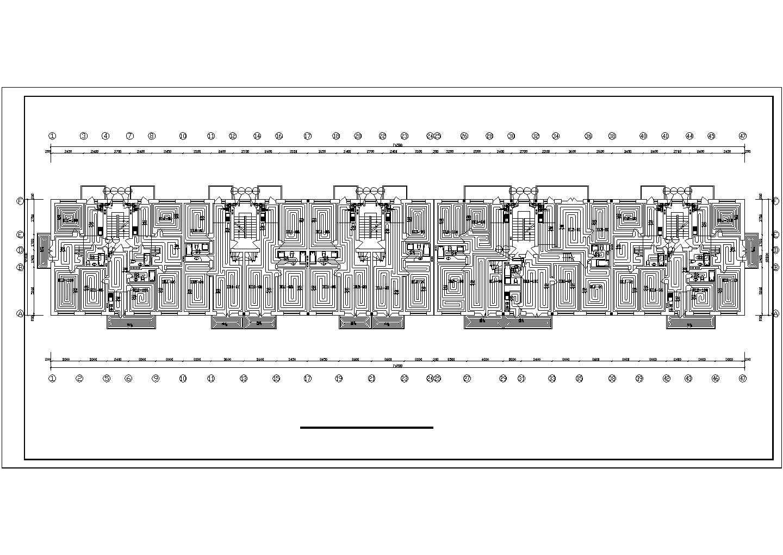 【河北】商住楼地板辐射采暖系统设计图图片2