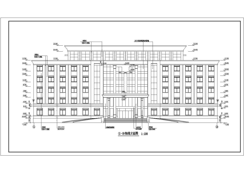 武汉某办公楼水冷机组加锅炉中央空调水系统图纸图片1